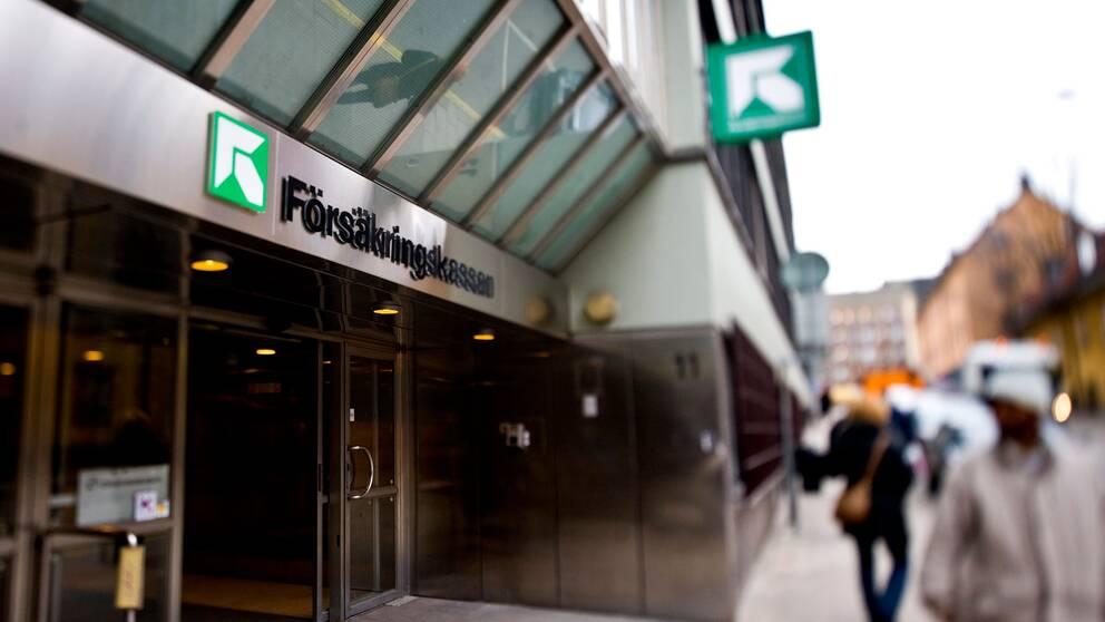 Försäkringskassans kontor i Stockholm