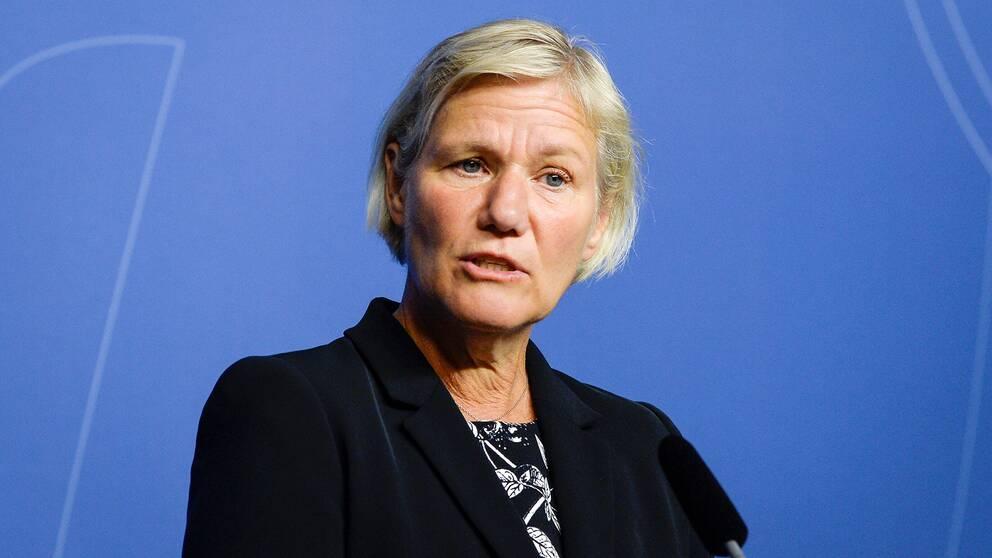 Försäkringskassans sparkade generaldirektör Ann-Marie Begler.