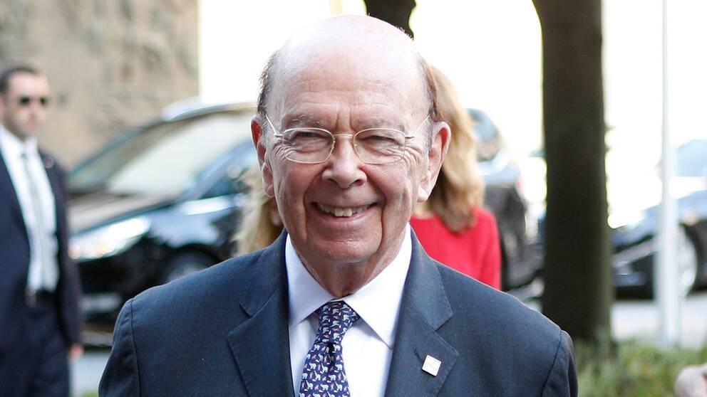USA:s handelsminister Wilbur Ross