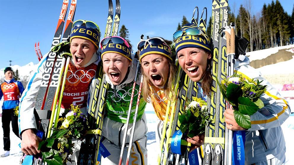 Magisk Kalla spurtade hem guldet   SVT Sport