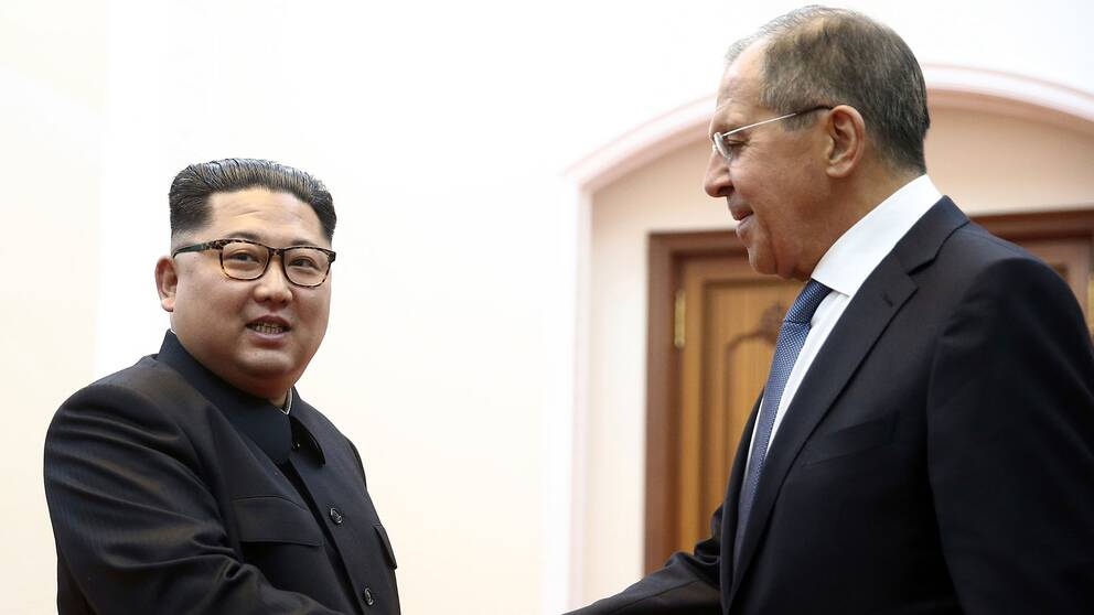 Vita huset fortsatt tryck pa nordkorea