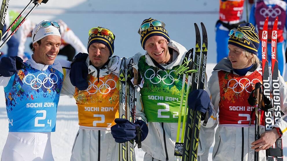 Bildextra: Alla stafettgulden   SVT Sport