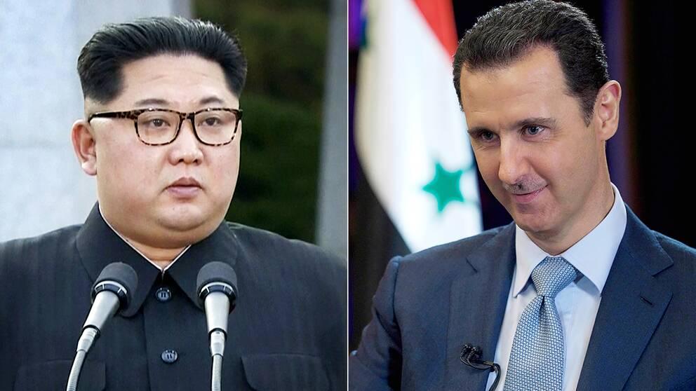 Trycket mot syrien okar