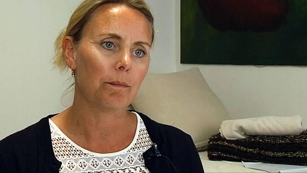 Katrine Haahr, chefsläkare på Storkkliniken.