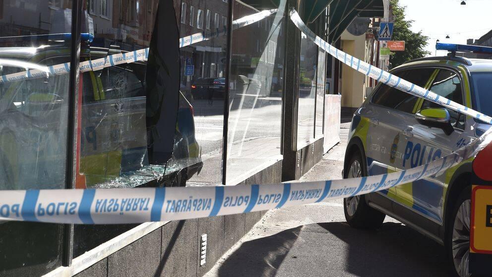 Brandattentat mot goteborgsskola