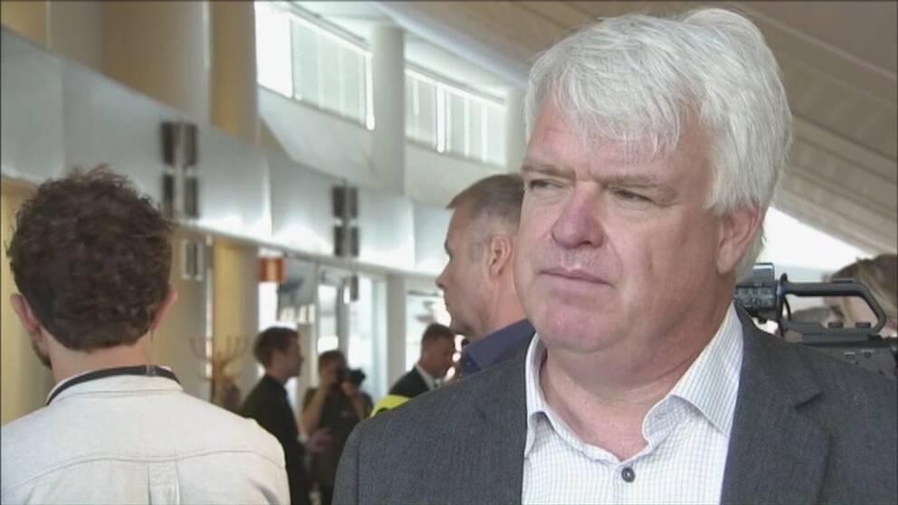 Sverigedemokraterna over riksdagssparren