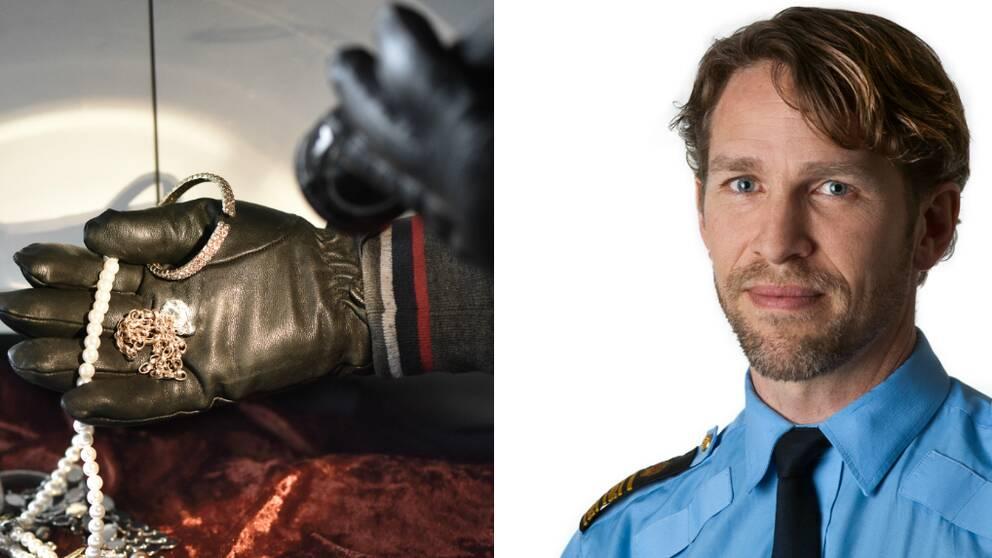 Tomas Stakeberg Jansson och ett inbrott