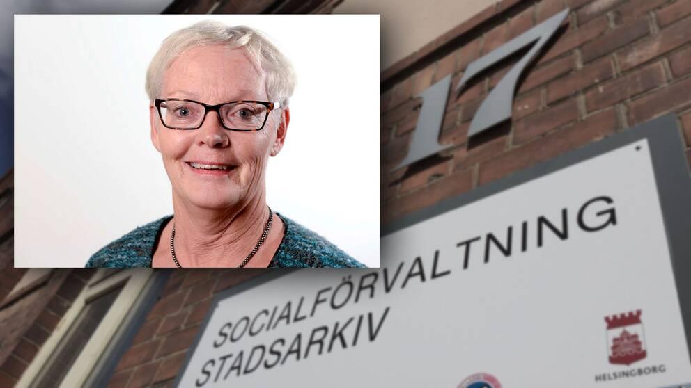 Ann-Christine Borgman (MP) är ordförande för socialnämnden i Helsingborg.