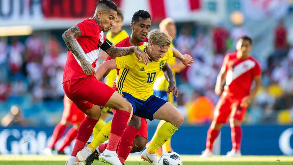 Så var Sverige–Peru – minut för minut  b95d101e933b8