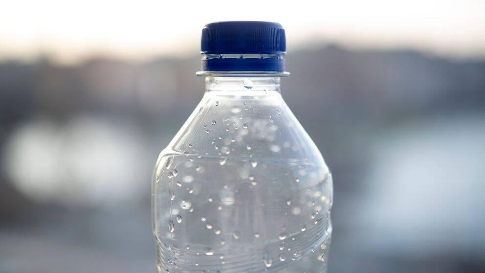 En vattenflaska