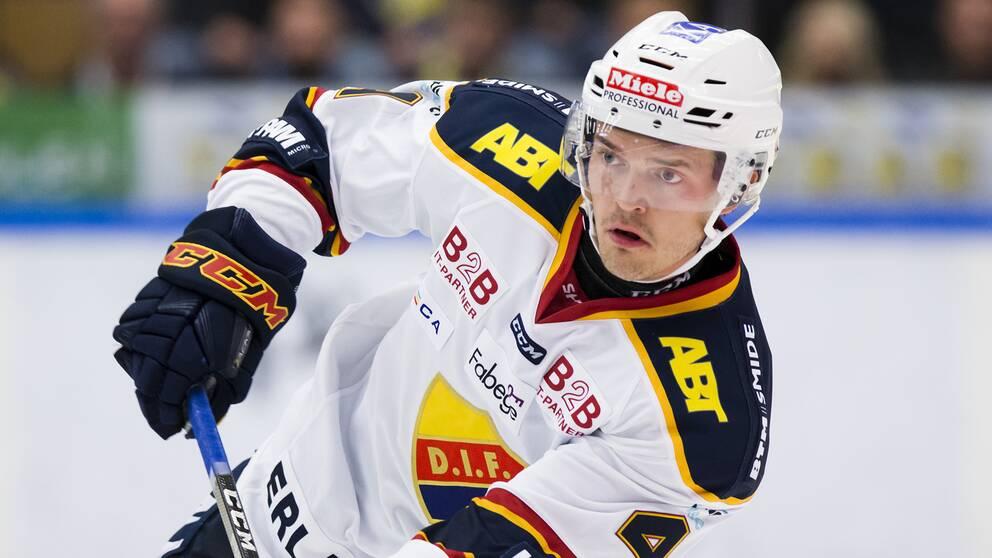 Djurgårdsbacken Marcus Högström.