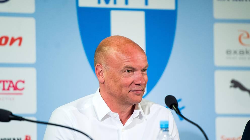 Uwe Rösler presenteras som ny tränare för Malmö FF