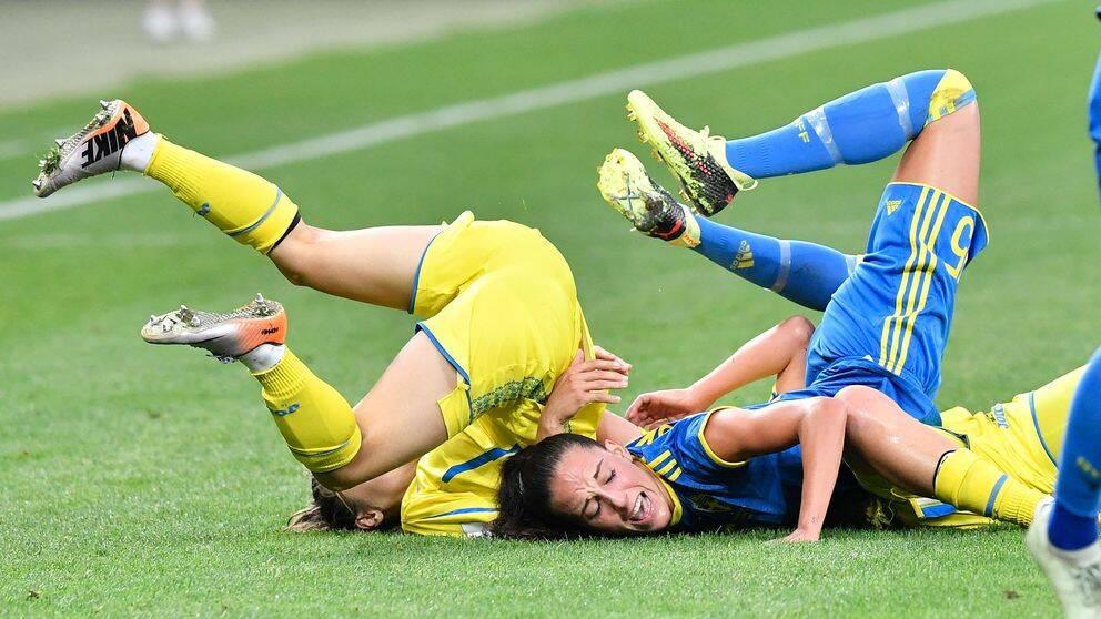 Chockförlust för Sverige mot Ukraina