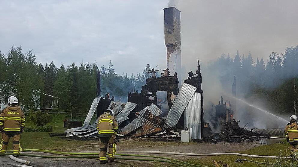 Anlade brander pa sjukhus