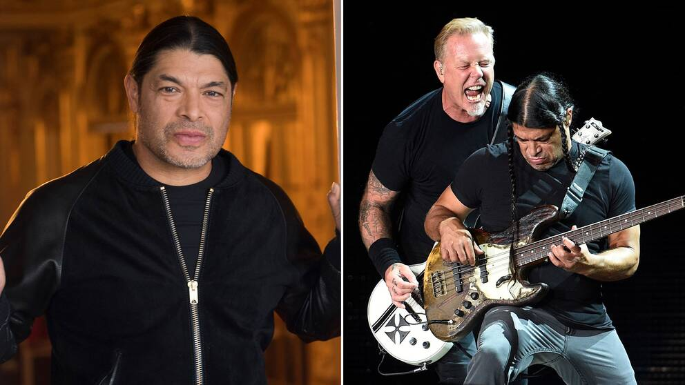 Metallicas basist Robert Trujillo.