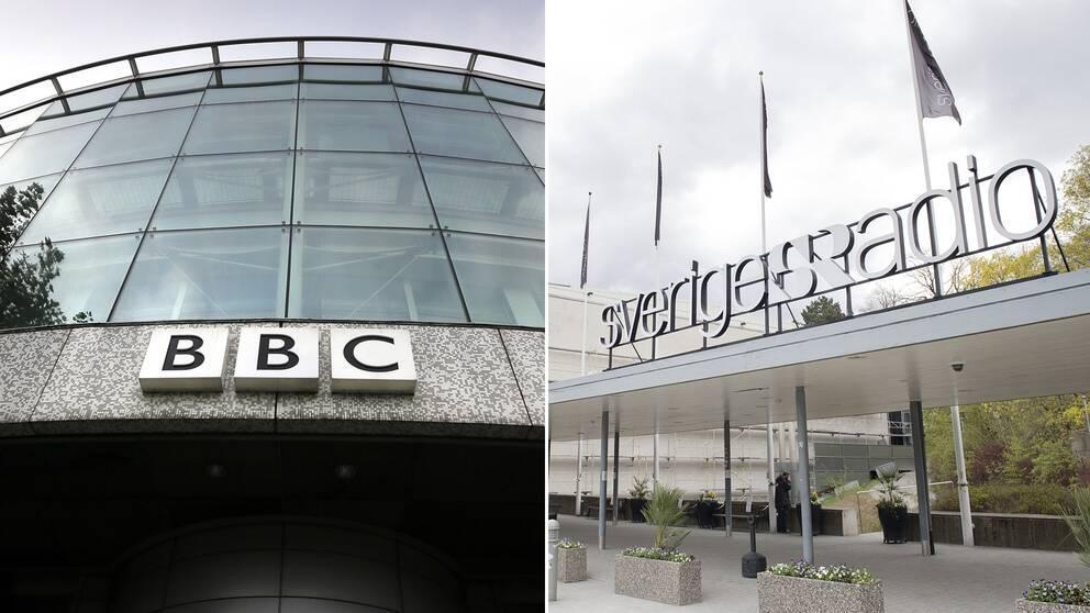 BBC och Sveriges Radio är två av de europeiska public service-medier som har högst förtroende, enligt undersökningen.