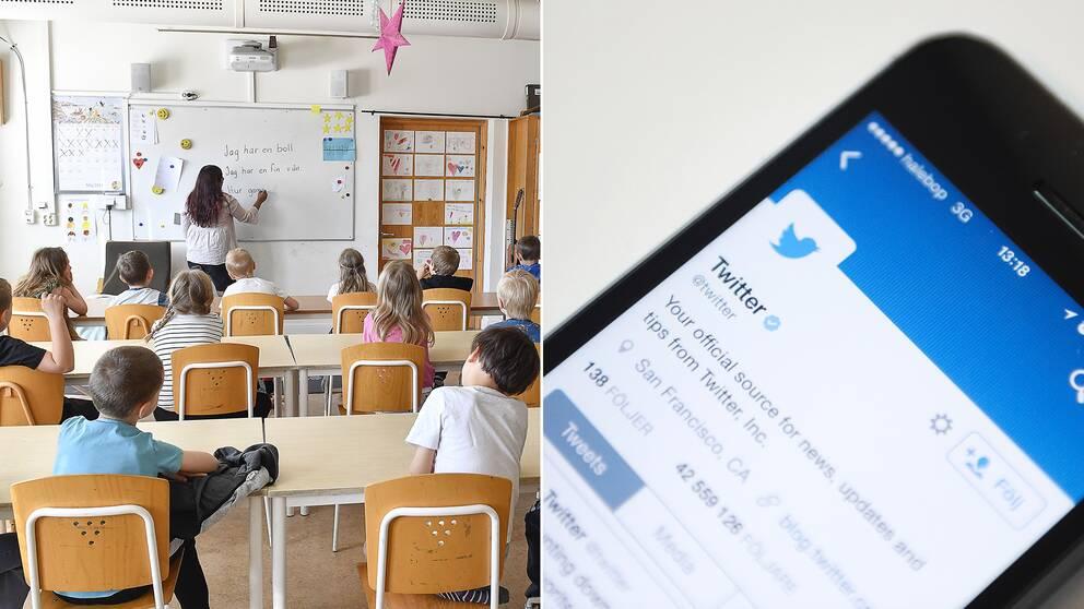 Vård, skola och omsorg diskuteras sällan på Twitter trots att de tillhör väljarnas viktigaste frågor.