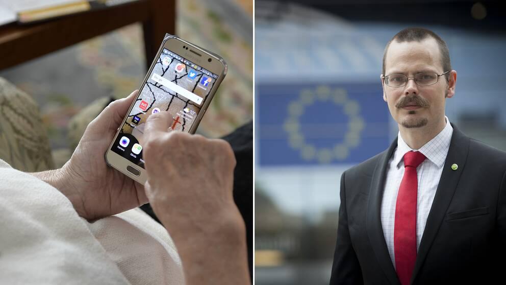 De omstridda förslagen om skärpt upphovsrätt inom EU röstades igenom i det juridiska utskottet idag. Max Andersson (MP), röstade nej.