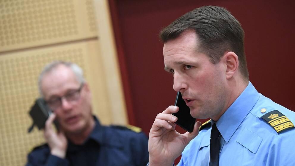 Mattias Sigfridsson, biträdande polisområdeschef i Malmö.