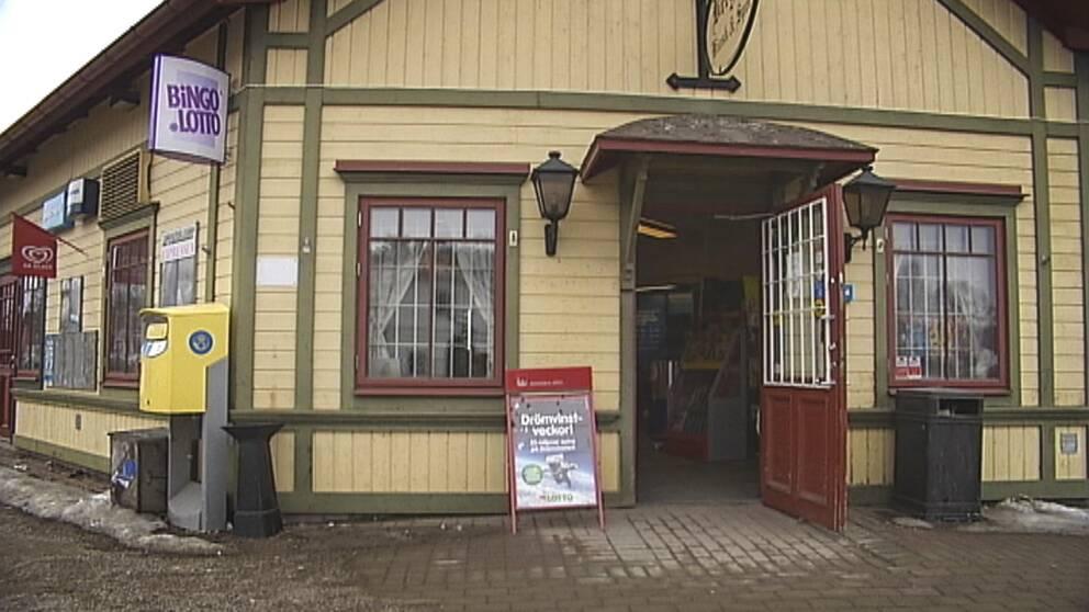 Spelkiosken i Bergsjö, Nordanstig.