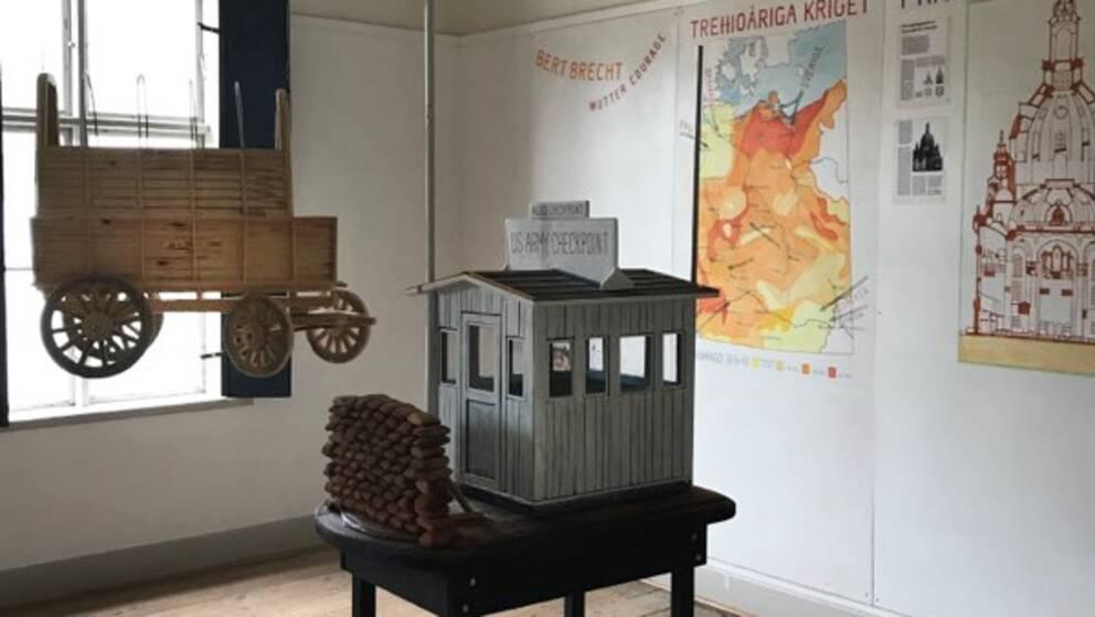Ett av de sista projekt Åberg arbetade med handlade om murens fall 1989.