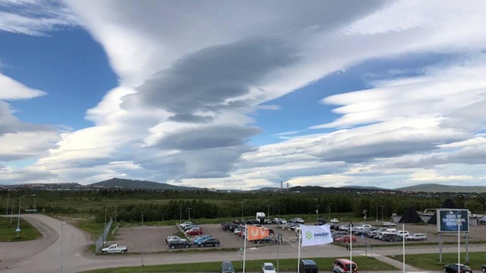 Kiruna flygplats 26/6-2018