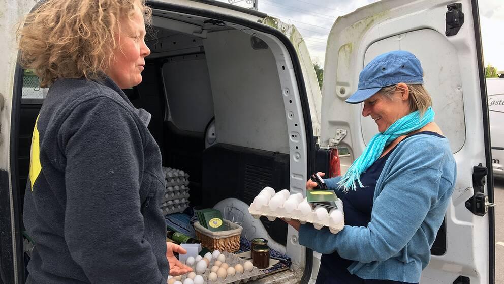 Ett tiotal lokala producenter kom till Reko-ring-Växjös första träff.