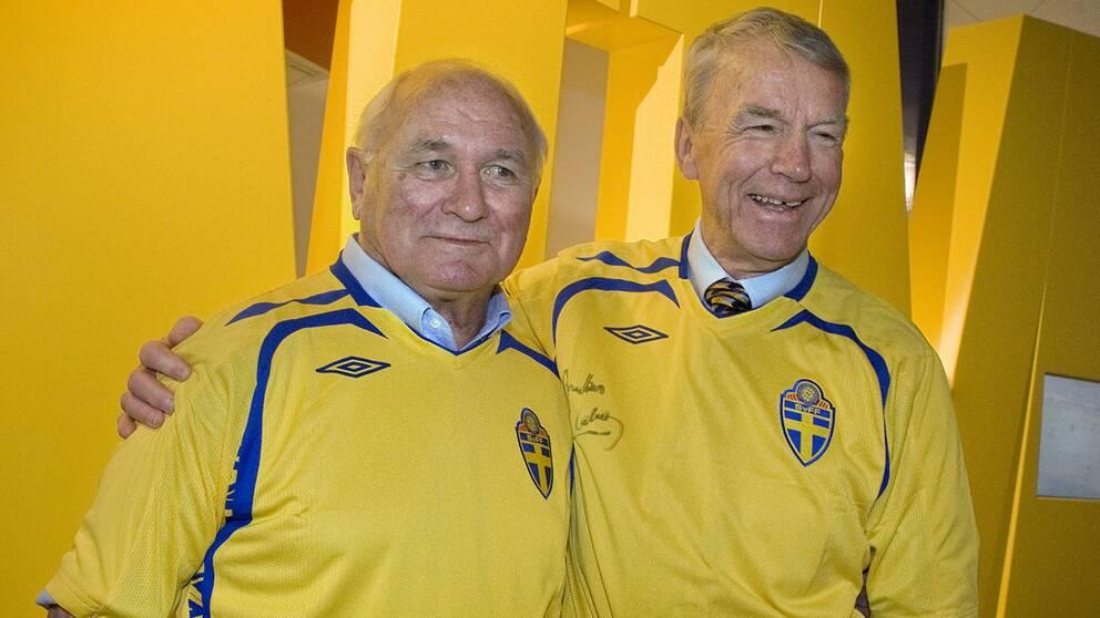 Kurre Hamrin och Agne Simonsson 2008.