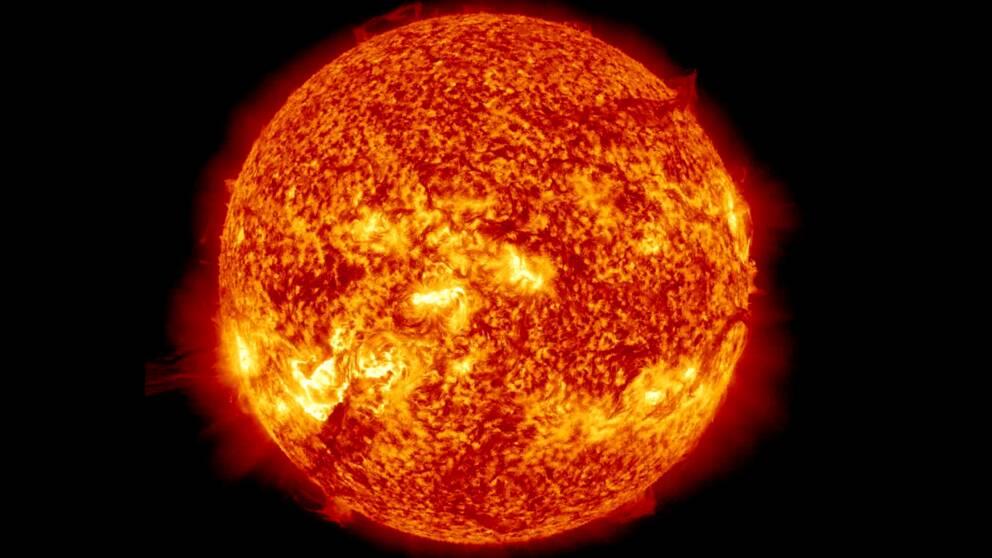 hur varmt är det i solen
