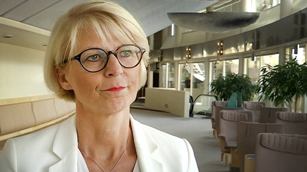 Moderaternas ekonomisk-politiska talesperson Elisabeth Svantesson
