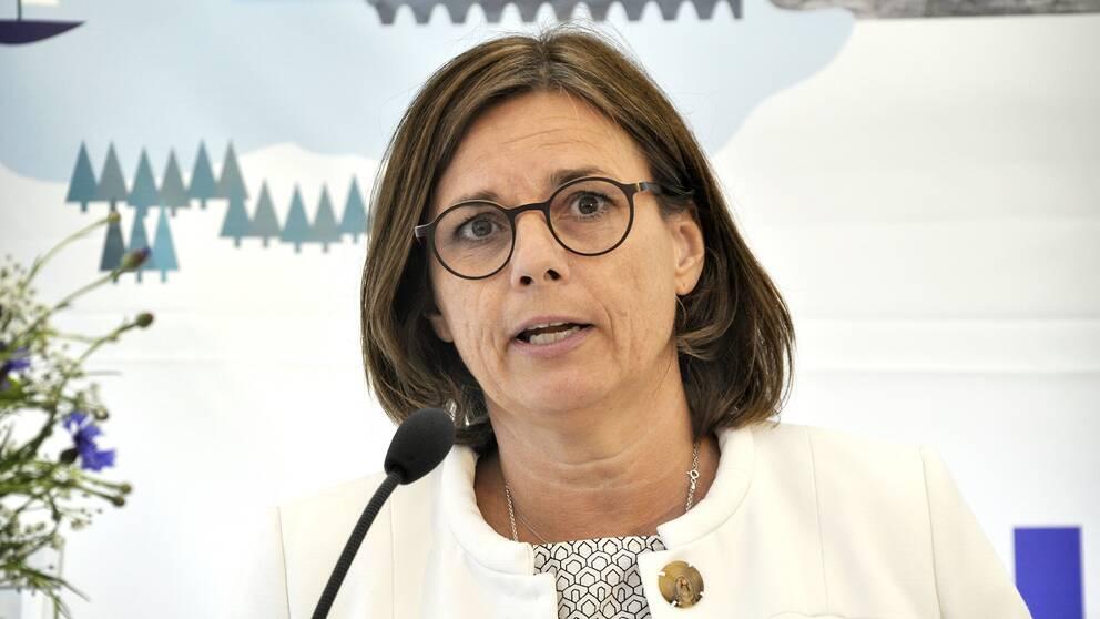 MP-ledaren Isabella Lövin.