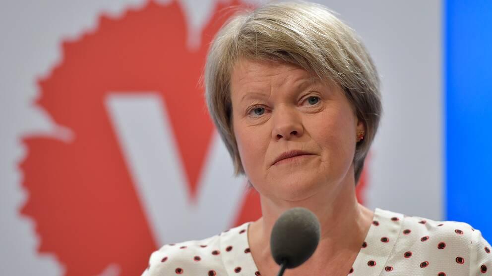 Vänsterpartiets ekonomisk-politiska talesperson Ulla Andersson