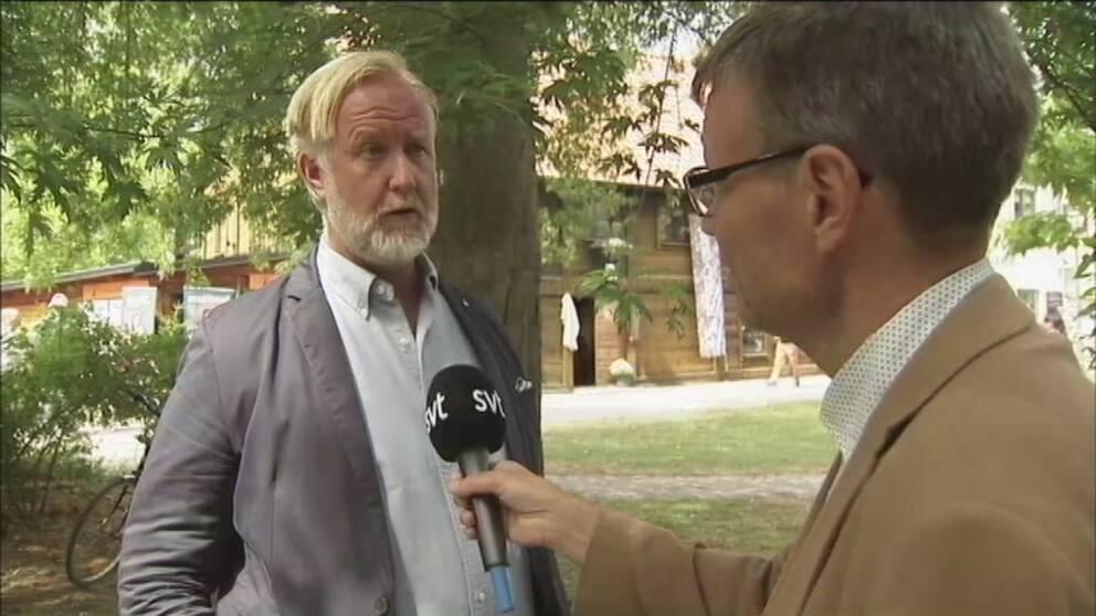 Liberalen Johan Pehrson vill göra comeback i rkspolitiken. Han intervjuas av Pontus Mattsson.