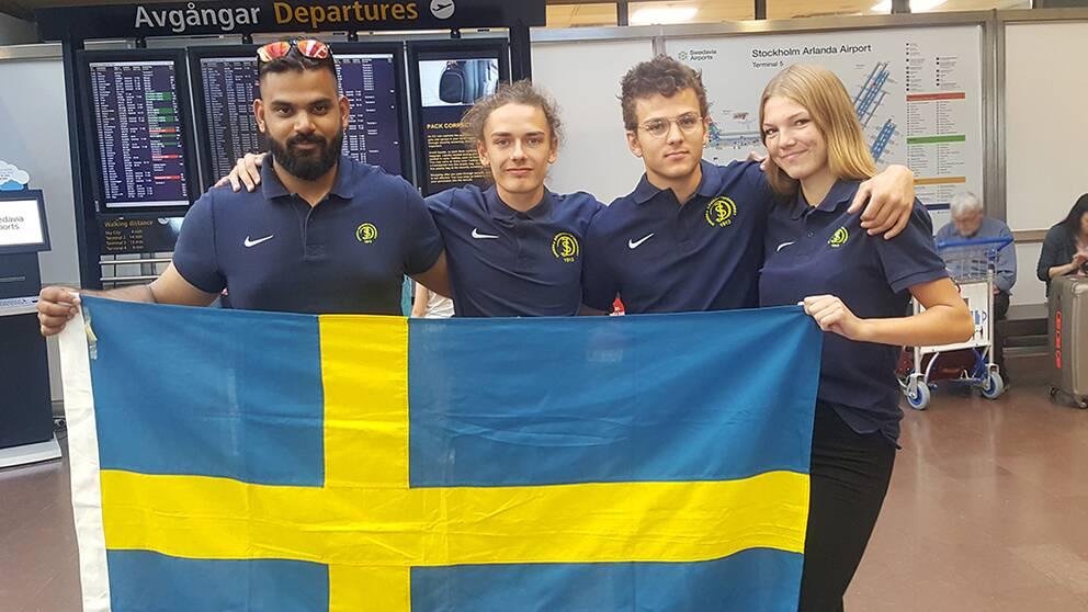 Fem medaljer i Junior-EM i friidrott för döva