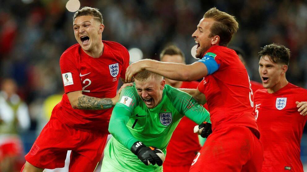 England mot Colombia
