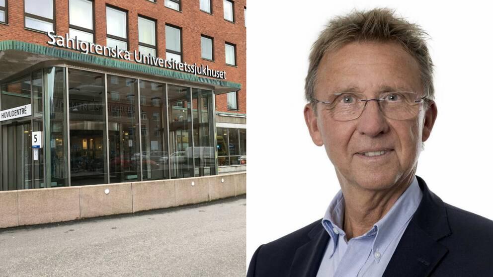 Ian Milsom, jourhavande sjukhusdirektör på Sahlgrenska Universitetsjukhus
