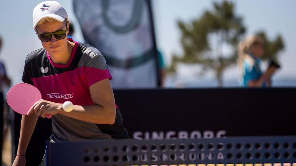 Matilda Ekholm får sikta in sig på bronsmatch.