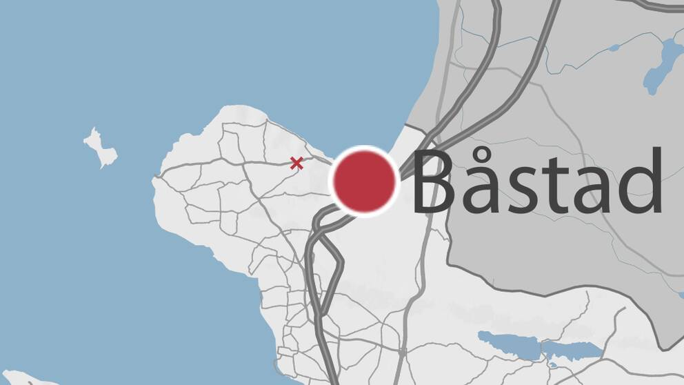Karta som visar Boarpskorset