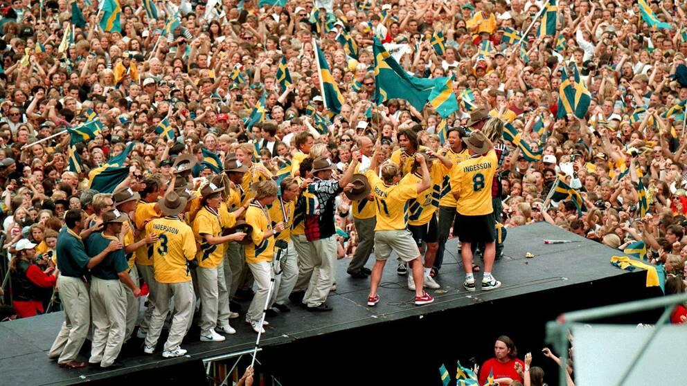Nostalgitripp i sommar med bronslaget 1994