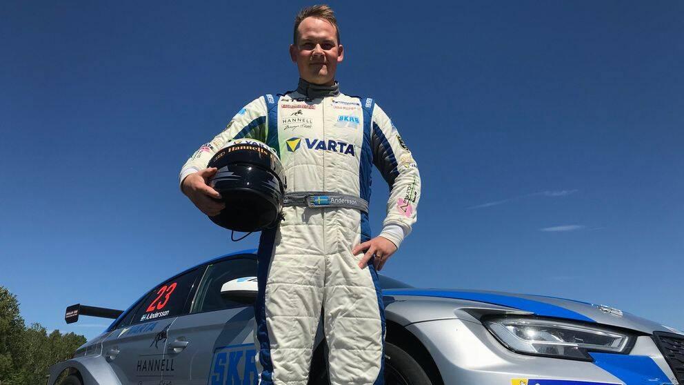 STCC-föraren Alex Andersson från Falkenberg.