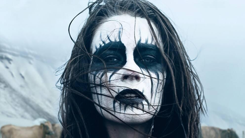 """Þorbjörg HelgaÞorgilsdóttir Dýrfjörd i rollen som Hera i filmen """"Metalhead"""". Foto: Pressbild"""