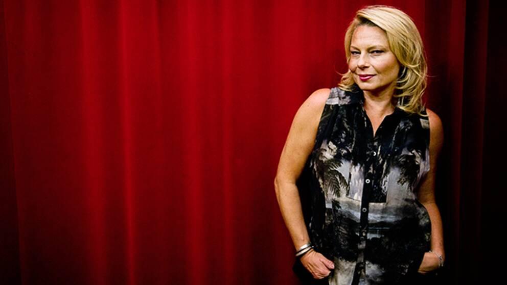 Helena Bergström hittade ingen bild på sig själv från Oscarsgalan, men hon minns det som igår.