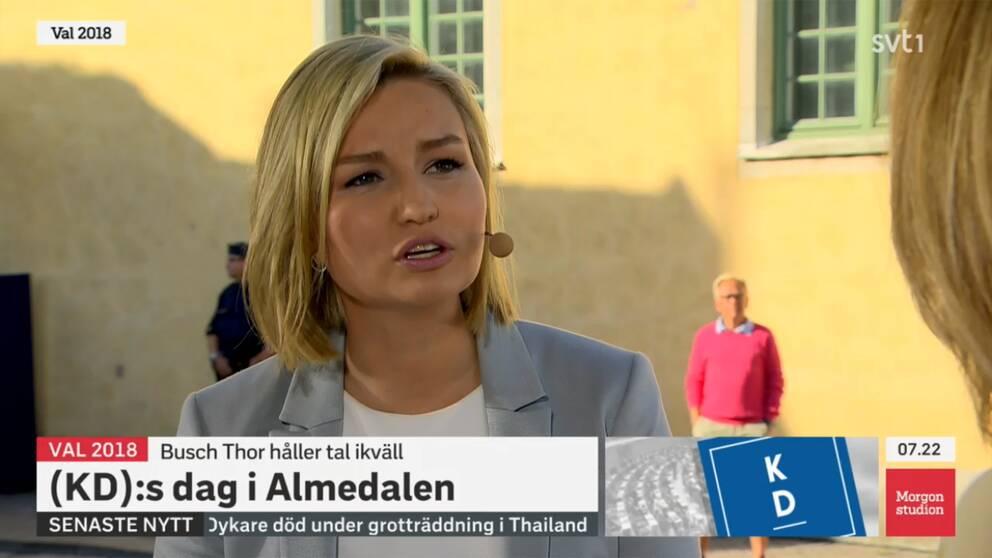 Den omorganisation av polisen som Alliansen initierade är delvis ett misslyckande, anser Ebba Busch Thor.