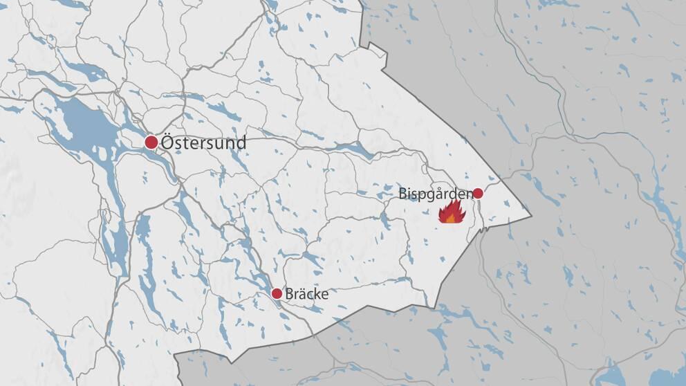 Karta Over Skogsbrander I Sverige.Raddningstjanster Kampar Mot Skogsbrand I Mjosjon Svt Nyheter