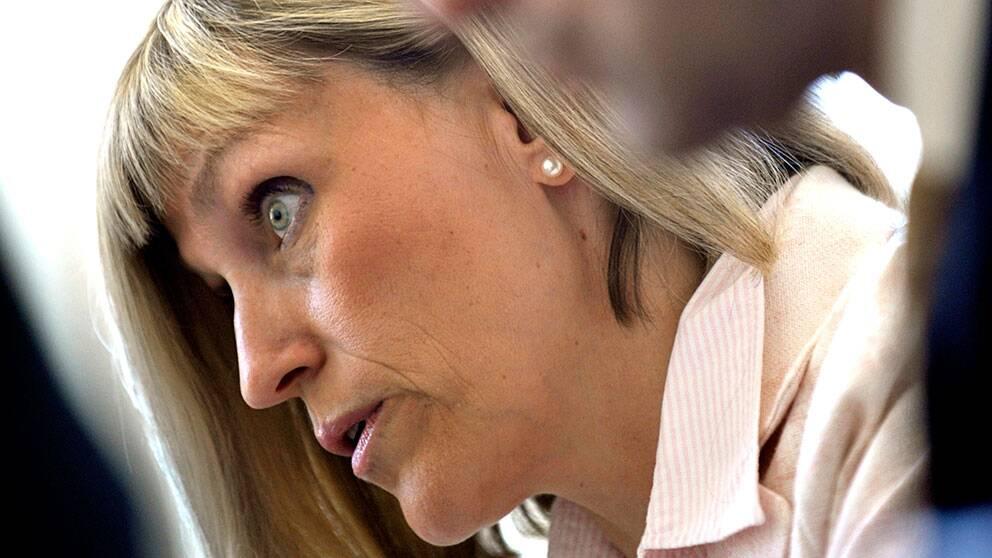 Christina Åkerman avgående generaldirektör för Läkemedelsverket.