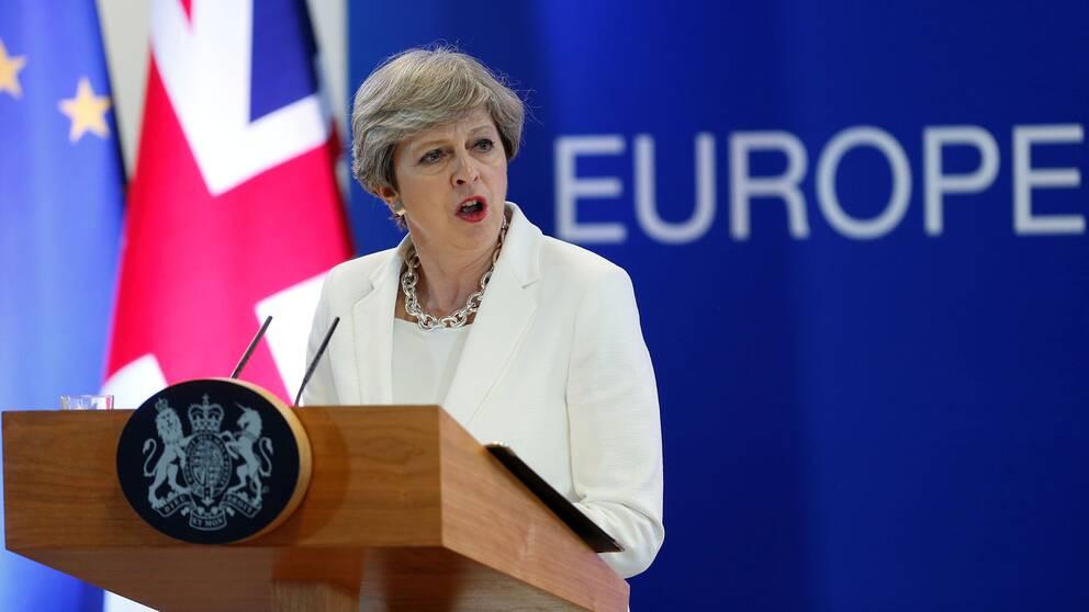 Theresa may kraver nyval i storbritannien