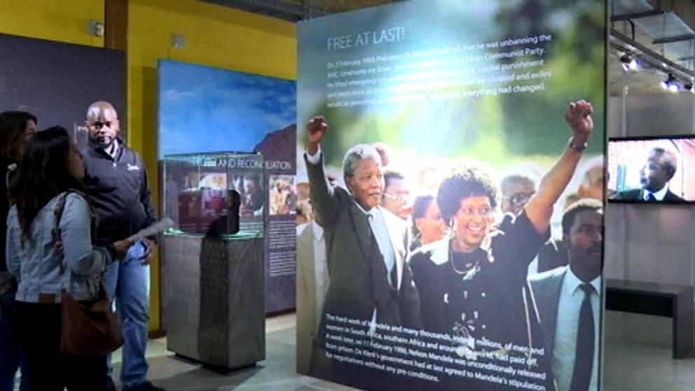 Den 18 juli skulle Nelson Mandela fyllt 100 år – något som nu uppmärksammas av Apartheid-museet i Sydafrika.