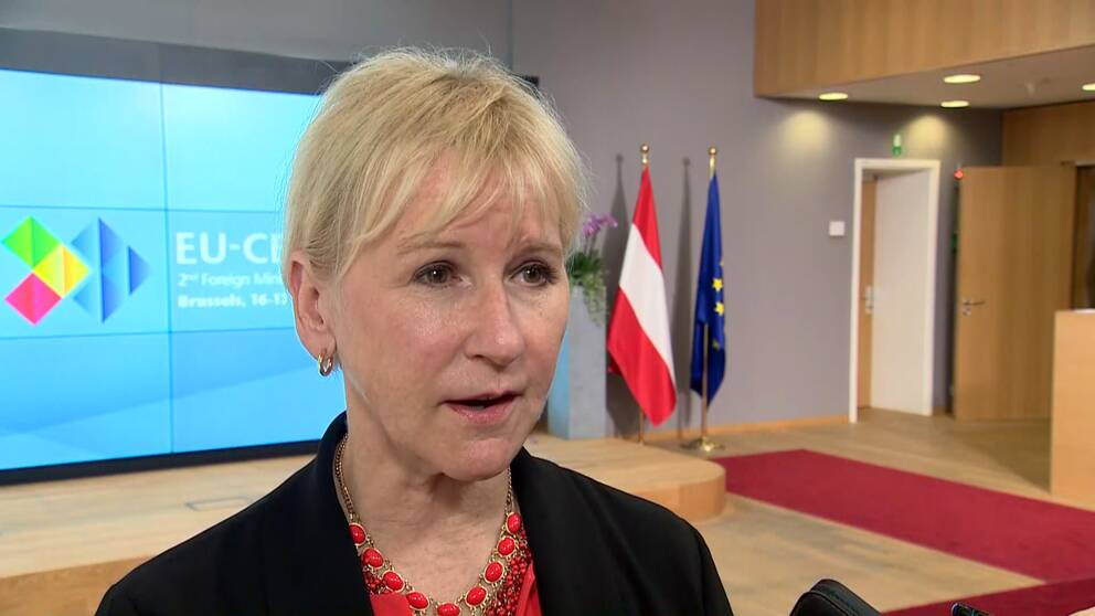 Sveriges utrikesminister Margot Wallström (S).
