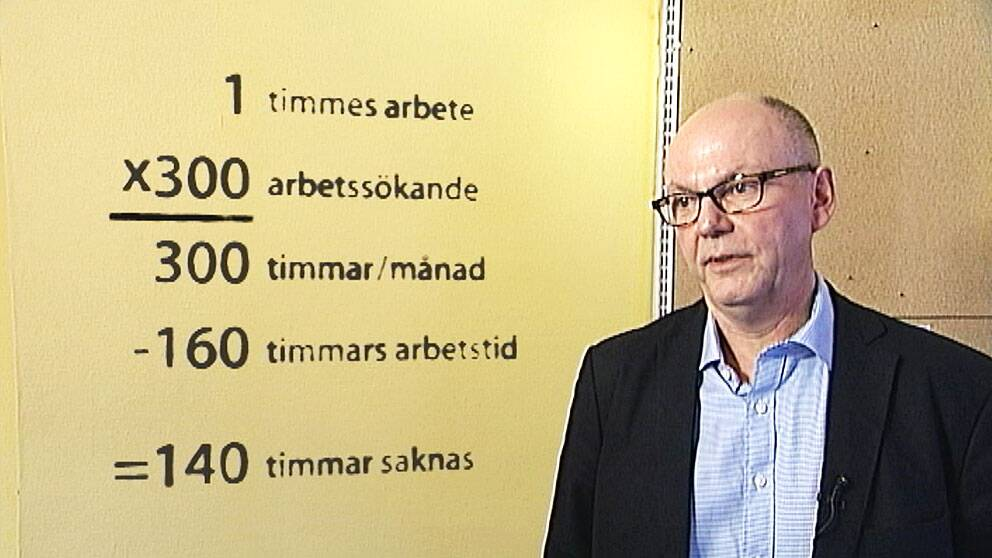 Håkan Karlsson, sektionschef på Arbetsförmedlingen i Linköping, Åtvidaberg och Kinda.