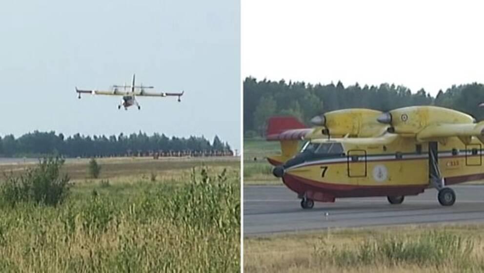 Sverige ber EU om mer hjälp – Behöver fler brandflygplan
